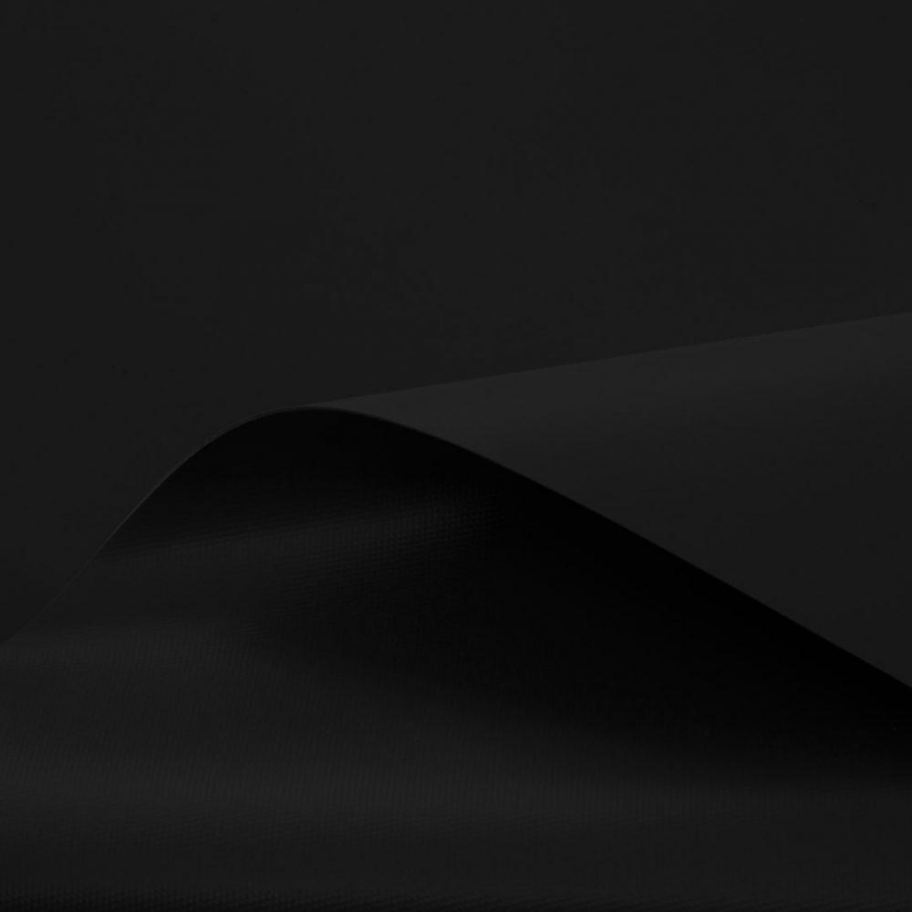 Tissu Hypalon 1100 Dtex pour réparation pneumatique noir.