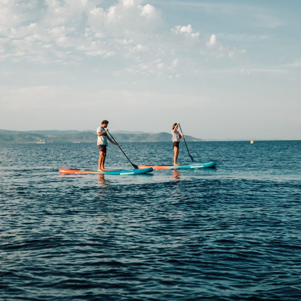 Stand Up Paddle Board gonflable Django en situation